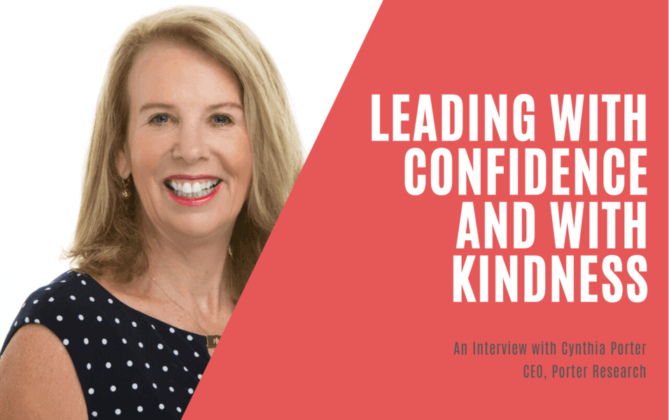 A5 Insight Article Image: Leading with Confidence and with Kindness - An interview with Cynthia Porter