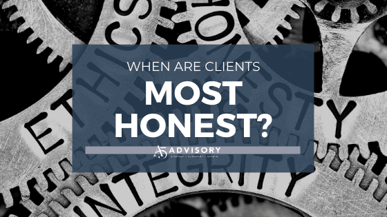 Mornings or afternoons – when are your clients most honest?