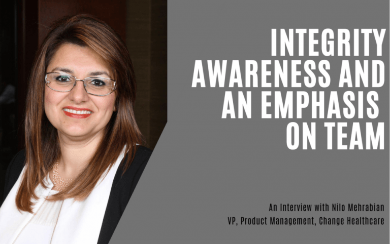 Integrity, Awareness, and an Emphasis on Team