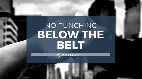 No Punching Below the Belt