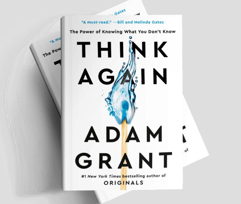 Think Again – A Book Club Summary